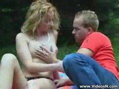 Im Park vom Bruder gefickt werden